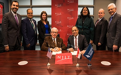Tatweer Misr Signs an MoU with New Jersey Institute of Technology and Ocean County College to Establish the First American International Branch Campus in Egypt at BLOOMFIELDS