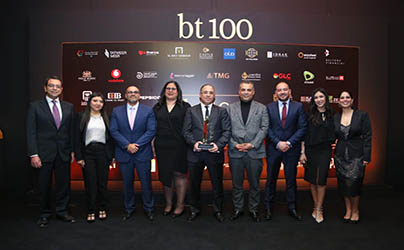 For the Second Year, Tatweer Misr receives an award at BT100