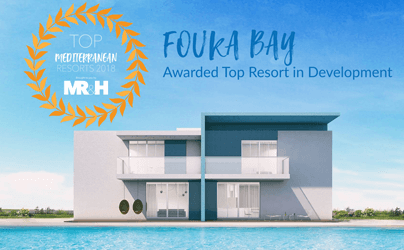 Tatweer Misr's Fouka Bay Awarded Top Mediterranean Resort by The Mediterrenean Resort & Hotel Real Estate Forum