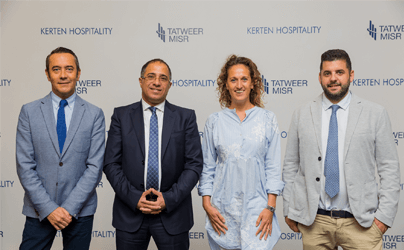 Tatweer Misr signs exclusive MOU with emerging and innovative hotelier Kerten Hospitality to bring boutique hotels to Egypt