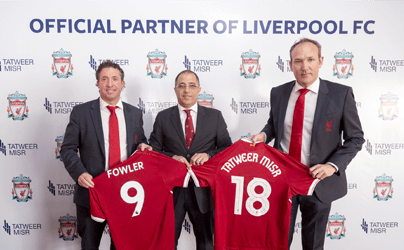 Tatweer Misr and Liverpool Football Club launch partnership